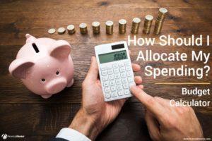 Sample Household Spending budget finance